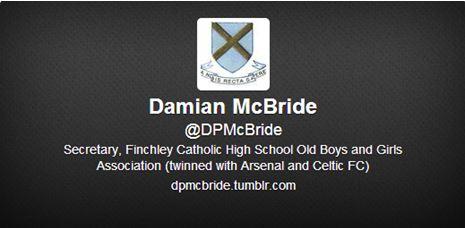 McBride Twitter account