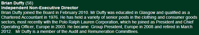 Duffy cfc website desc