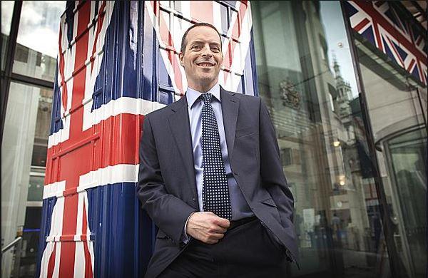 Ian Livingston Union Jack