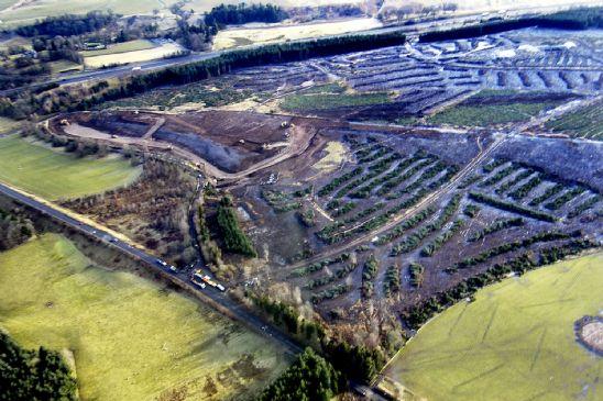 Opncast mines Scotland
