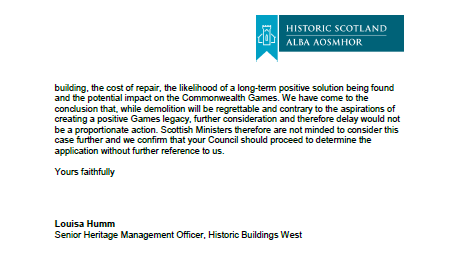 Historic Scotland clearance page 2 26 June 2013