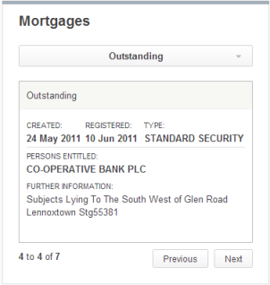 Lennoxtown mortgage 1