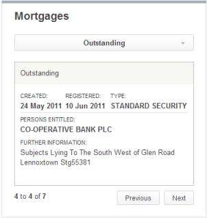 Lennoxtown mortgage 1