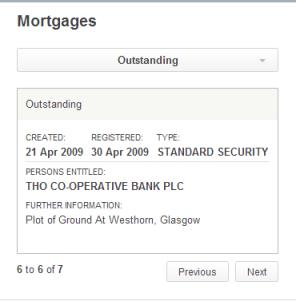 Westhorn mortgage