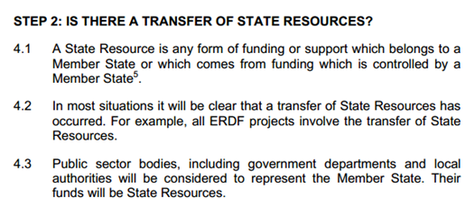 Is there a transfer of state aid resources