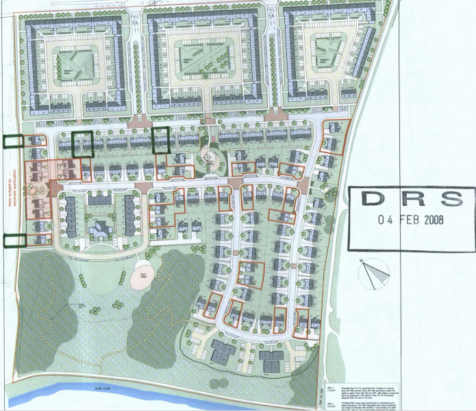 Belvidere development plan 2008
