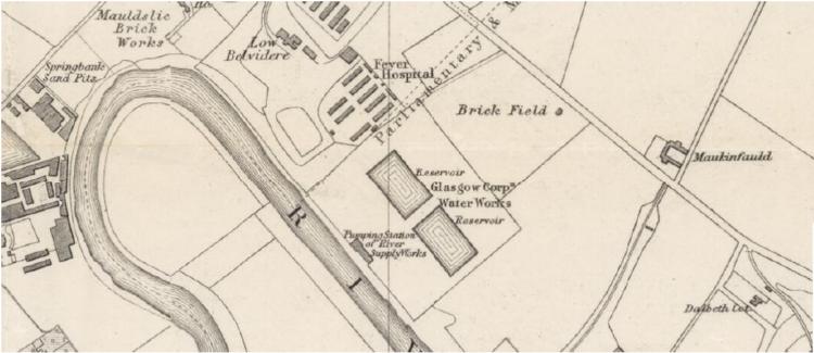 Westthorn Brick field 1882