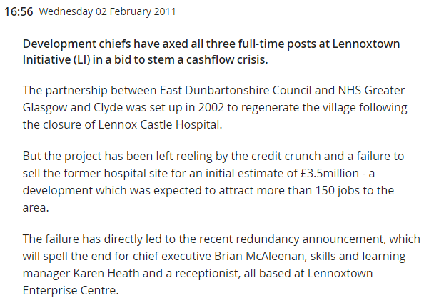 Kirkintilloch Herald 2 February 2011