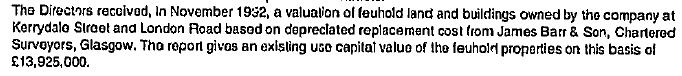 November 1992 feuhold building valuation