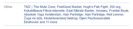 Derek Brookman favourities 2