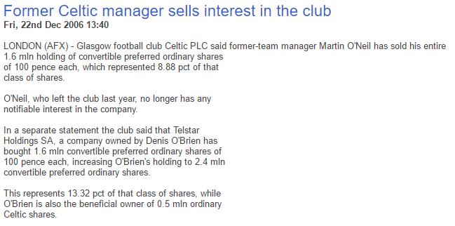 DOB buys MON shares