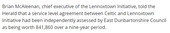 Brian Mcleenan Kirkintilloch Herald report 2010 EDC assessment