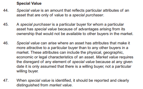 rics-2012-special-value