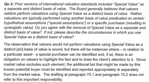 rics-stating-special-value-should-be-mentioned