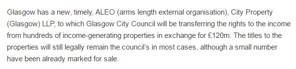 City Propertyglasgow Barclay Bank 120m loan