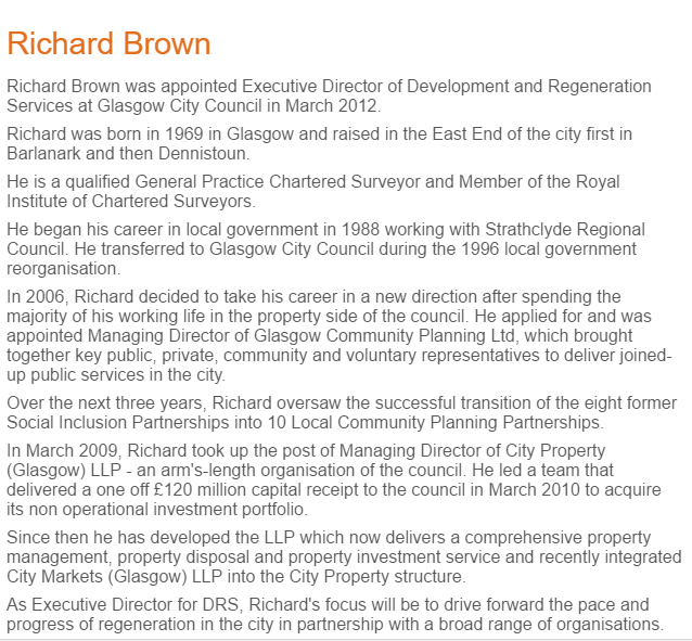 Richard Brown Glasgow Chamber of Commerce