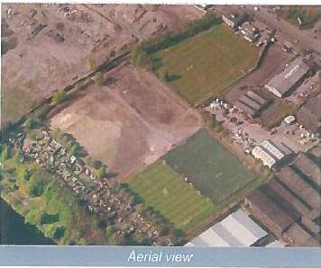 Savills Westthorn aerial view