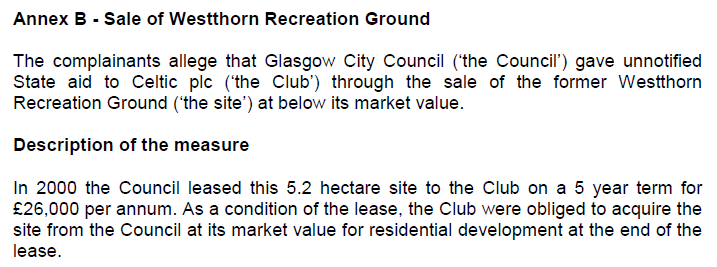 Scottish Govt end of lease condition nonsense