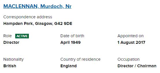 Murdoch MacLennan SPFL chair