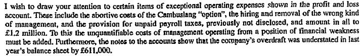 1994 Unpaid Payroll taxes 1